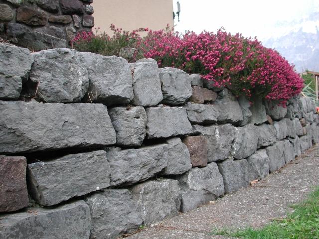Kalksteine mauer