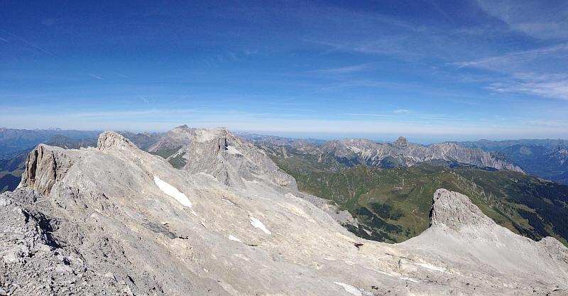 Klettersteig Sulzfluh : Rundwanderung klettersteig sulzfluh tilisunahütte